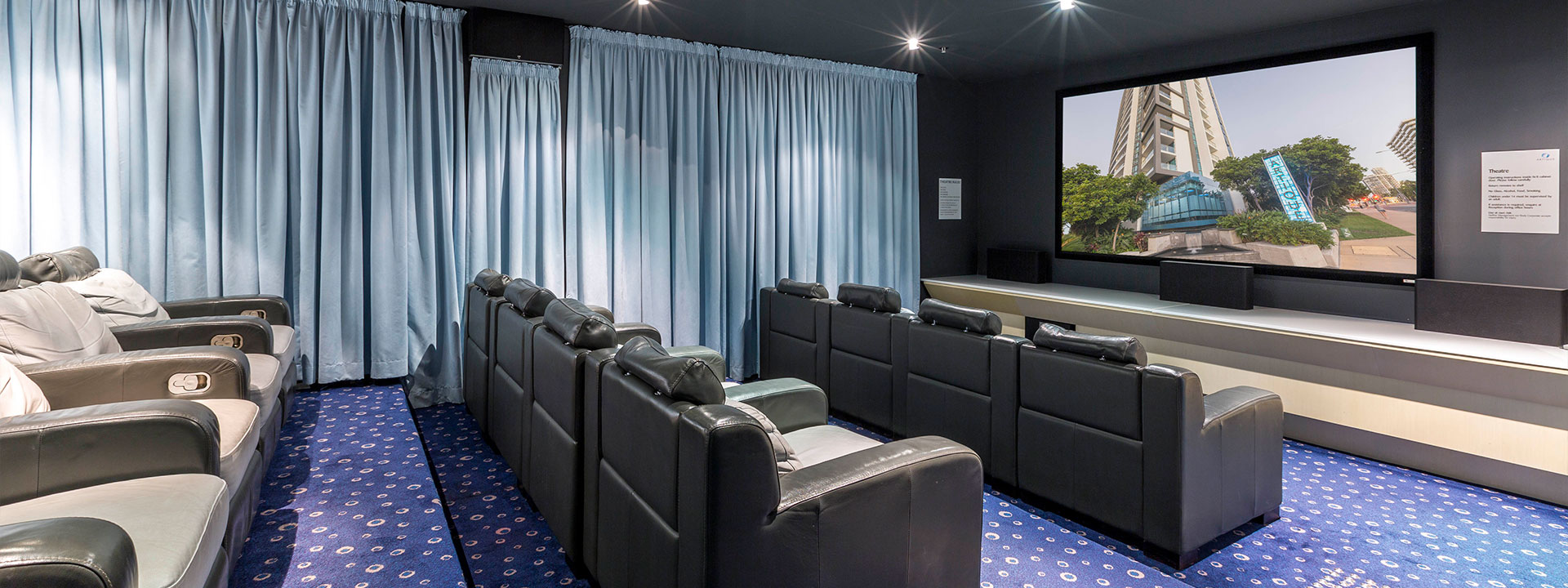 Artique Resort - Private Theatre
