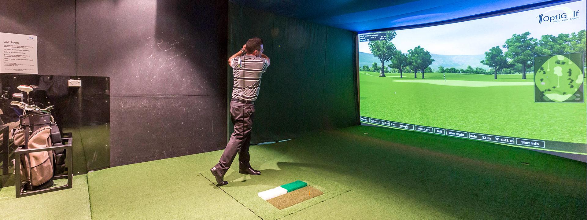 Artique Resort - Virtual golf simulator